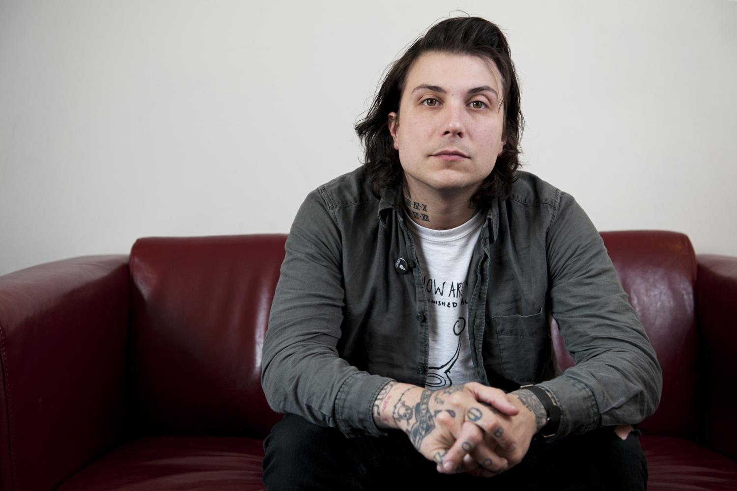 Interview: Frank Iero, Luxor (Köln)